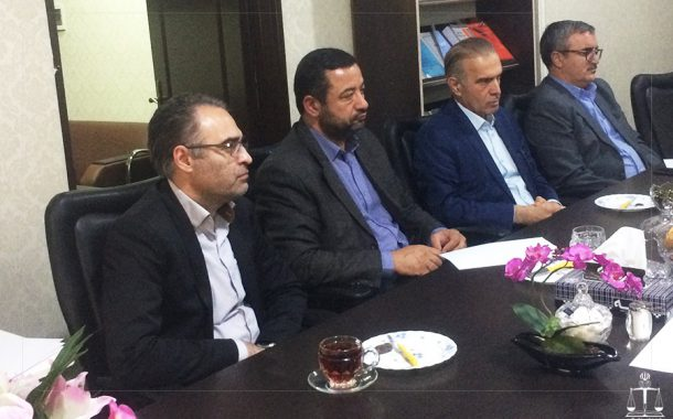 first meeting of legal medicine research center with Tehran University of Medical Sciences